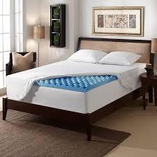 Walmart Headboard Queen Bed by Bedroom White Gel Foam Mattress Topper With Beige Walmart