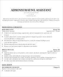 Medical Administrative Assistant Job Description Sample Health Resume Samples Objectives Best Objective Healthcare Administrator Descriptio