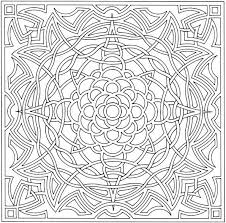 Complex Coloring Book Pages