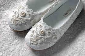 Bridal Flats With Beautiful Emblished 2