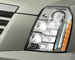 Escalade first vehicle to full LED headlamps