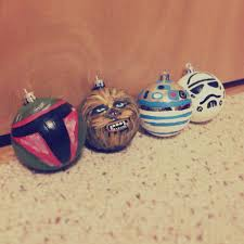Star Wars Room Decor Walmart by Diy Star Wars Ornaments Not Bad For A First Attempt Cheap