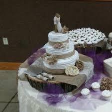 Rustic Wedding Cake Cupcake Tree Fall