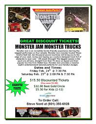 Monster Jam Ticket Discount : Uverse Triple Play Monster Jam Crush It Playstation 4 Gamestop Phoenix Ticket Sweepstakes Discount Code Jam Coupon Codes Ticketmaster 2018 Campbell 16 Coupons Allure Apparel Discount Code Festival Of Trees In Houston Texas Walmart Card Official Grave Digger Remote Control Truck 110 Scale With Lights And Sounds For Ages Up Metro Pcs Monster Babies R Us 20 Off For The First Time At Marlins Park Miami Super Store 45 Any Purchases Baked Cravings 2019 Nation Facebook Traxxas Trucks To Rumble Into Rabobank Arena On