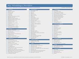 Wedding Checklist Timeline Printable