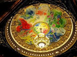 plafond chagall opéra garnier chagall opéra