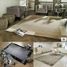 nepal tapis salma noué à la salle de séjour nouveau avec bambou viscose ebay