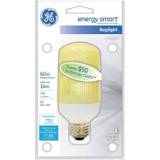 ge皰 self ballasted bug light cfl bulb 47464 cfl light bulbs