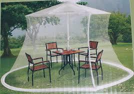 Mosquito Netting For Patio Umbrella Black by Amazon Com Mosquito Netting For 9 Ft Market Umbrella Patio