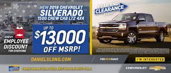 Chevy Dealer In Colorado Springs Daniels Long Chevrolet