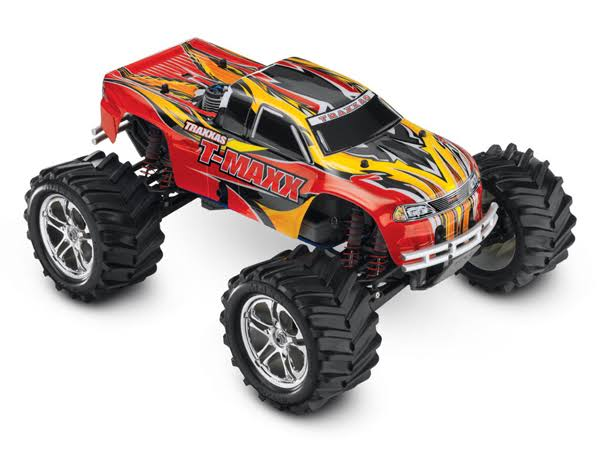 Traxxas T-Maxx 2.5 4WD Nitro RTR Monster Truck w/TQ 2.4GHz Red