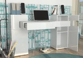bureau design bureau design laqué blanc nautilus bureau bureau