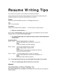 Good Resume Layout Example Printable Format Examples Styles Formatting Executive R Large Size