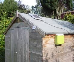Small Generator Shed Plans by Run Your Shed Off Grid 7 Steps With Pictures