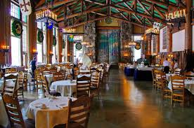 the dining room in the ahwahnee lodge at yosemite travels