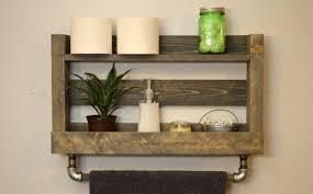 ShelfBathroom Towel Rack Shelf Wall Mounted Stunning Shelves For Towels 25 With Additional