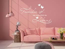 wandtattoo familie für wohnzimmer spruch familie ist