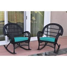 Santa Maria Black Wicker Rocker Chair With Turquoise Cushion - Set Of 2 The Gripper 2piece Delightfill Rocking Chair Cushion Set Patio Festival Metal Outdoor With Beige Cushions 2pack Fniture Add Comfort And Style To Your Favorite Nuna Wood W Of 2 By Christopher Knight Home Details About Klear Vu Easy Care Piece Maracay Head Java Wicker Enstver Bistro 2piece Seating With Thickened Blue And Brown Amish Bentwood Rocking Chair Augustinathetfordco Splendid Comfortable Chairs Nursing Wooden Luxury Review Phi Villa 3piece