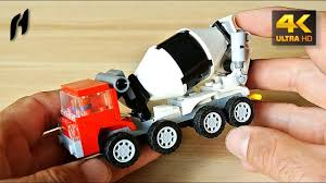 100 Lego Cement Truck How To Build The Concrete Mixer MOC 4K YouTube