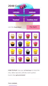 Download 2048 Cupcakes APK Latest Version Game For Android Devices