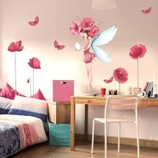 chambre fee clochette deco chambre fee stickers pactronille decoration chambre