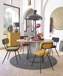 runder esstisch für 4 6 personen aus mangoholz d140 maisons du monde