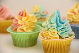 Cakes Decorated With Russian Tips by Multi Colors Frosting Icing With Russian Piping Tips Ball Shaped