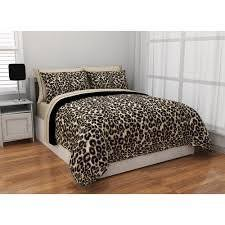 Twin Xl Bed Sets by Amazon Com Twin Xl Cheetah Reversible Bed In A Bag Bedding Set