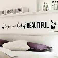 Be You Own Beautiful Quotes Wall Sticker Decal Vinyl Mural Home Room Decor Art