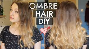 DIY Easy Cheap Ombre at Home Bleach London