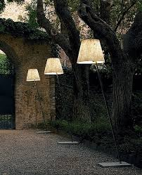Miami F1 Outdoor Floor Lamp by Anton Angeli