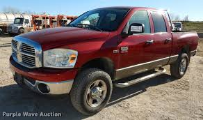 100 2009 Dodge Truck Ram 2500HD Big Horn Quad Cab Pickup Truck Item