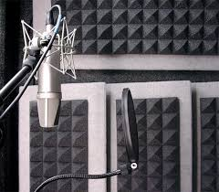 Auralex Mo Pad Studio Foam Pyramids Installed In Vocal Booth