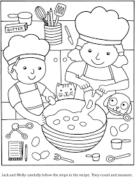Colouring In Page