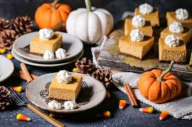 Pumpkin Gingersnap Cheesecake Bars by Pumpkin Cheesecake Bars What Should I Make For