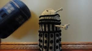 Make Dalek Christmas Tree by Dalek French Press Cozy Make