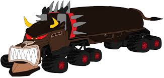 Giant 18 Wheeler Monster Bulldog Truck By Wilsonasmara On DeviantArt