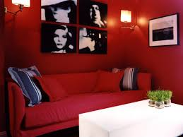 Red And Black Living Room Ideas by Cream Seat Leather Bolster Pillows That Can Be Applied On The