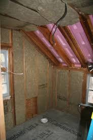 Insulating Cathedral Ceilings With Spray Foam by An Old Farm Roxul Vs Fiberglass Vs Foam Insulation