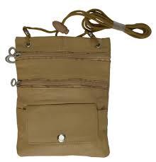 genuine leather crossbody multi pocket purse bag handbags