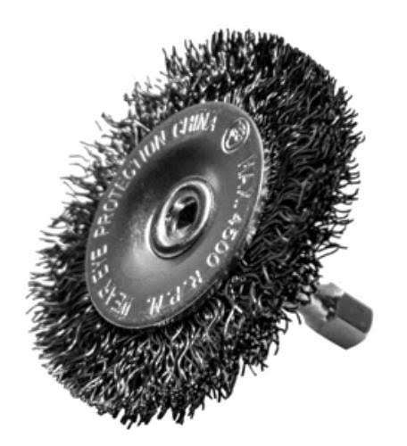 Century Drill and Tool 76441 Coarse Drill Radial Wire Brush - 4""