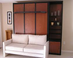 Murphy Beds Tampa by Arresting Polished Wooden Wall Murphy Bed In Furniture Bedroom