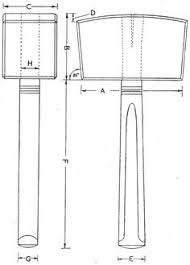 classic turned mallet woodworking plan from wood magazine wood