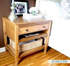 Bedroom Ana White Bedside Table Diy Projects For Marvelous Free