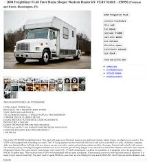 This Freightliner Toter Home Is Both RV And Tow Vehicle Rv Hauler Information Rources Your Haulers Inc Ford F550 In Mesa Az For Sale Used Trucks On Buyllsearch Toter By Owner Florida 2007 Intertional 9200i Toter Truck Item L3849 Sold Oc Used 1999 Freightliner Fl60 Toter For Sale In Pa 23344 Indiana Transport Welcome To Racing Rvs Full Service Dealer Band New Heavy Duty Tow Vehicle Youtube Vehicles You Can And Cannot 4 Wheels Down Smart Cartrailer Camp Trailers Rvs Pinterest Custom Related Keywords Suggestions