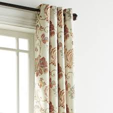 Pier One Curtain Rods by Somerton Floral Natural Grommet Curtain Pier 1 Imports