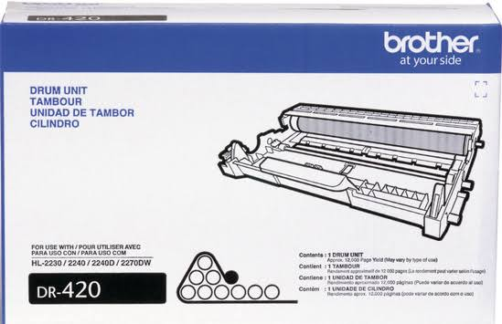 Brother DR420 Drum Unit 12000 Page-yield - Black