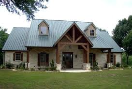 Texas Style Home Plans House Awesome Limestone And Tin Roof