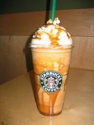 Copycat Starbucks Caramel Frappuccino Recipe 2 Cups Of Ice 3 4 Cup Cooled Coffee Table Spoons Sugar Syrup 1 Milk