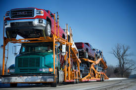 100 United Road Trucking US Car Carriers Driving An Open Highway Automotive Logistics